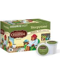 Celestial Seasonings Sleepytime Herbal Tea Keurig Single Serve K Cup Pods 12 Count