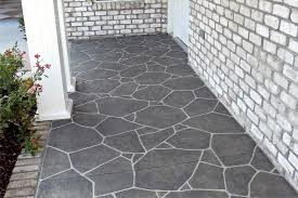 Patio Concrete Porch Floor Paint Concrete Patio Floor With Grey