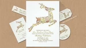 Deer Wedding Invites Antlers