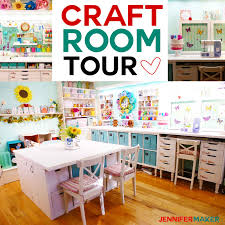 Craft Room Tour My Organization And Storage Projects Jennifer Maker