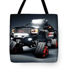 100 Truck Tracks Gmc Pickup On Snow Tote Bag For Sale By Oleksiy Maksymenko