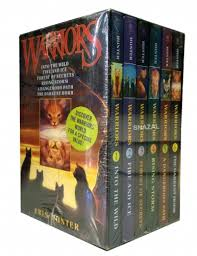 Warriors Cats Series 1 6 Books Collection Set By Erin Hunter