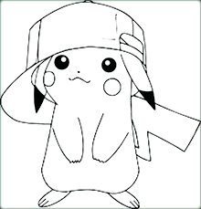 Pikachu Coloring Pages Page Free Game