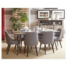 Target Upholstered Dining Room Chairs by American Retrospective Upholstered Dining Chair Set Of 2 Gray