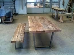 altholztisch tisch altholz alte eiche rustikal massiv