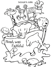 Noah Ark Coloring Pages Image Gallery Noahs Printable