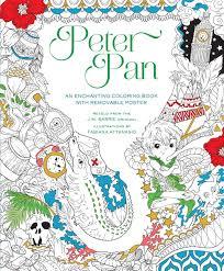 Peter Pan Coloring Book Fabiana Attanasio 9781454920908 Amazon Books