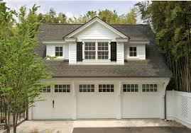 Garage Apartment with carriage doors garage traditional and