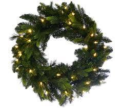 bethlehem lights 24 mixed green prelit wreath page 1
