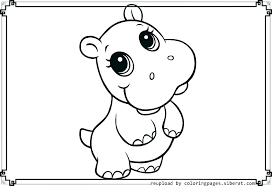 Cute Baby Farm Animals Coloring Pages Animal Printable To Print