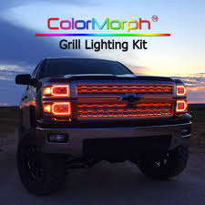 ColorMorph RGB LED Exterior Grill Lighting Access Aa Battery Led Truck Bed Light Installation Youtube Amazoncom Vsek Auto Tailgate Bar Led Tail Strip Evo Formance Siwinder Aftermarket Accsories Powered Strips Kit Single Color 2 Portable Motorcycle Multi 3 Size Fxible With 48 Redwhite Reverse Stop Turn 22 12v Rgb Smd Blue Scanning Remote Stopbrake For Ford F150 Where To Buy White Light Strips For Cars Truck Led Lights Bar X 60 180 Super Bright Ledonlinenadaca