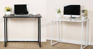 bureau pliable foxhunter foldable computer desk folding laptop pc table home