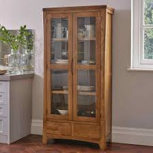 Crate Wood French Farmhouse Solid Oak Cabinet Rustic Display Case
