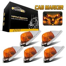 5XTEARDROP AMBER YELLOW Cab Roof Top Clearance Marker Lights For ... Truck Led Lights 2 Inch Round Trailer Marker Install How To Youtube 9 33v 8led Amber Side Marker Lightclearance Lamp Ailertruck 2008 F150 Leds Strobe All Around Led And W Clear Lens 25 Side Lets See Them Chicken Dodge Cummins Diesel Forum Ram Clearance Inspiration New 2018 1500 Express Dorman Cab Roof Parking 5 Piece Kit For 212 2410x Round Light Indicator Lamp Car Bus Trucklite 8946a Oval Signalstat Replacement