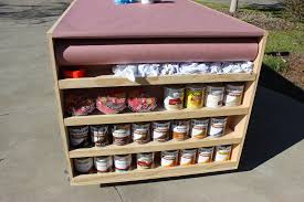 Diy Portable Workbench With Storage Free Plans For Work Bench Prepare