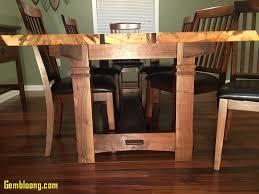 Dining Room Walnut Table Beautiful Live Edge Ambrosia ...