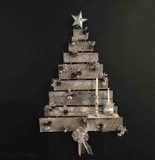 Upcycled Wooden Pallets U Recyclart Christmas White Pallet Tree Trees From