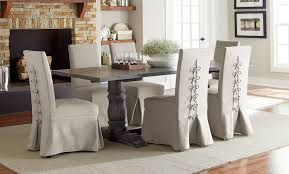Muses Dining Room Set W Parsons Chairs