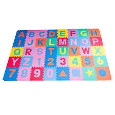 Alphabet Soft Play Mat 40 pack Softfloor Kids UK