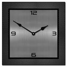 Modern Metal Wall Clocks Collection