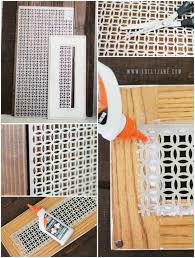 Decorative Return Air Grille Canada by Diy Decorative Vent Cover Vent Covers Tutorials And Spaces