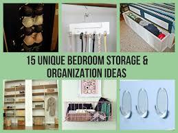 Unique Bedroom Storage & Organization Ideas