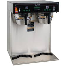 Bunn Twin Infusion Series Coffee Brewer W 5 6 Gal Capacity You Rh Com Dual Commercial