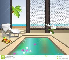 100 Interior Swimming Pool Cdr Vector Stock Vector