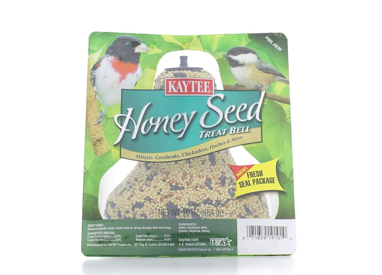 Kaytee Honey Seed Bell Treat
