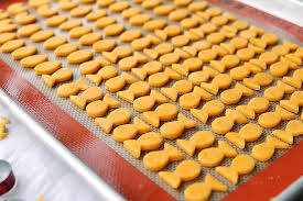Tasty Kitchen Blog Homemade Goldfish Crackers Guest Post By Amy Johnson Of She Wears