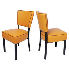 LUCKYERMORE Kitchen Dining Chairs Set Of 2 Modern Classic Leather Side  Chair For Dining Room Cafe Bedroom, Orange Ding Room Chair Leather Design Optic Upholstered Chair Retro Cognac Brown Beige 2er Set Amazing Rooms Chairs Set Cushions Table Michael Anthony Fniture Burnt Orange Oak Nyekoncept Mid Century Eiffel Side Amazoncom Cjc Of 2 Faux Kitchen Chairsbrown Art Deco St030 Transitional Midcentury Modern Dering Hall Mediterrean With Hand Painted Hgtv Christopher Knight Home 298997 Anise Of Green Tea With Casters