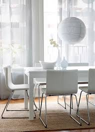 Leather Dining Chairs Ikea by Best 25 White Leather Dining Chairs Ideas On Pinterest Leather