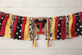 Mickey Mouse Birthday Banner, Mickey Mouse High Chair Banner, Mickey Mouse  Birthday Decorations, Cake Smash, Photo Prop, One, Two, Custom Minnie Mouse Room Diy Decor Hlights Along The Way Amazoncom Disneys Mickey First Birthday Highchair High Chair Banner Modern Decoration How To Make A With Free Img_3670 Harlans First Birthday In 2019 Mouse Inspired Party Supplies Sweet Pea Parties Table Balloon Arch Beautiful Decor Piece For Parties Decorating Kit Baby 1st Disney