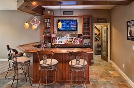 Vintage Garage Interiors Catchy Basement Bar Complete With A Wine Cellar Apartment Interior
