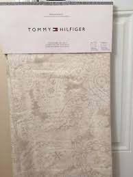 tommy hilfiger mission paisley 96 window panels pair curtains