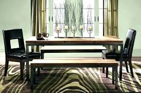Dining Setting With Bench Seats Table Seat Room