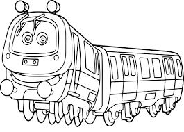 Coloriage Dun Train De Chuggington à Imprimer Sur Coloriage DE Com