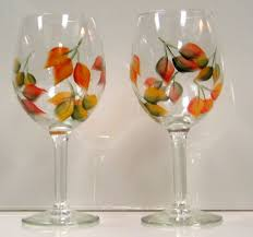 Wine Glasses Rustic These Would Be Great For Fall