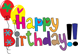 clipart happy birthday