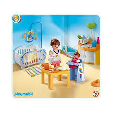 playmobil chambre bébé playmobil 4286 la chambre de bébé achat et vente
