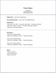P And L Template Lovely Resume No Experience Sample Examples