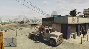 GTA V Tow Truck Location - YouTube