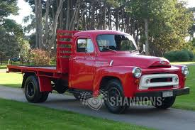 100 1957 International Truck Sold AS130 Flat Bed Auctions Lot 25 Shannons