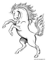 Horse S Spirit9a8d Coloring Pages
