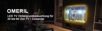 tv hintergrundbeleuchtung omeril 2 2m usb led band wasserdicht rgb led streifen fernseher beleuchtung mit 24 key fernbedienung für 40 60 zoll