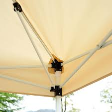 Shed Rain Umbrella Amazon by Amazon Com Outsunny Easy Pop Up Canopy Tent With Mesh Side Walls