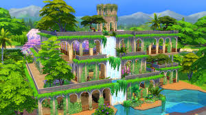 100 Images Of Hanging Gardens Mod The Sims Of Babylon No CC