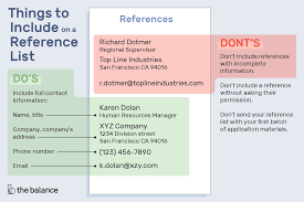 100 How To List References In A Resume What Should Your Of K Like Is The Called Pa