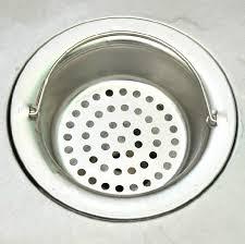 Mesh Sink Strainer With Stopper by Bathroom Sink Strainer Basket Home Design