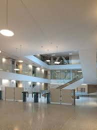 Newmat Light Stretched Ceiling by Crédit Mutuel 2017 Nantes France U2013 Newmat Stretch Ceiling